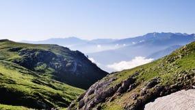 Überraschender Kaukasus Stockbild
