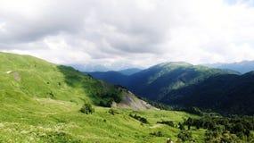 Überraschender Kaukasus Lizenzfreies Stockfoto