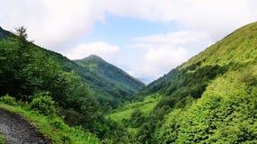 Überraschender Kaukasus Stockbilder