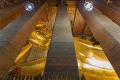 Überraschender stützender Buddha Stockbild