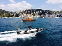 Überraschendes Bosphorus lizenzfreies stockbild