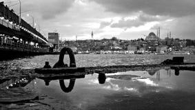 Überraschendes Istanbul Stockbild