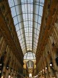 überraschendes Mailandgalleria shoppin Stockfoto