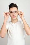 Überrascht, überrascht, confused⦠Lizenzfreie Stockfotografie