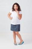 Überraschtes Mädchen Lizenzfreie Stockfotografie