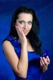 Überraschtes Mädchen mit Ring Lizenzfreie Stockbilder