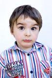 Überraschtes und nettes kiddo Lizenzfreie Stockfotografie