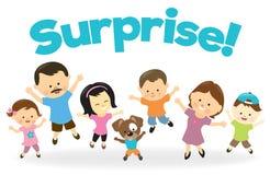 Überraschung! Lizenzfreies Stockbild
