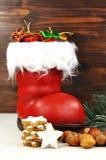 Überraschung auf Sankt Nikolaus Lizenzfreie Stockfotos