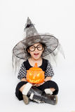 Überraschung Halloween Stockfotografie