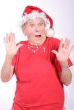 Überraschung am Weihnachten lizenzfreie stockbilder