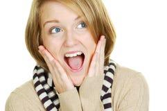 Überraschungs-Überraschung Lizenzfreie Stockfotos