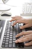 Überreicht Tastatur Lizenzfreie Stockfotografie