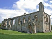 Überreste der englischen Abtei Lizenzfreies Stockfoto
