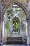 Überreste der St.-Dunstan-in-d-Osten-Kirche in London Stockbilder
