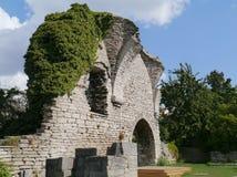 Überreste einer Kirche Stockfotos