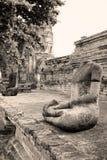 Alte kopflose Buddha-Bilder, Thailand stockbild