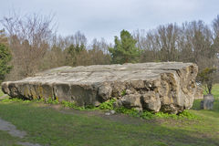 Überreste von Adolf Hitler-Wohnsitz Werwolf Stockfotos
