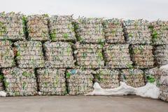 Überschüssige Verarbeitungsanlage Technologischer Prozess Wiederverwertung und Lagerung des Abfalls für weitere Beseitigung Gesch Lizenzfreies Stockbild