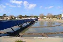 Überschüssige Wasseraufbereitungsanlage Stockfoto