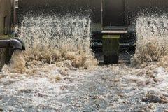 Überschüssige Wasseraufbereitungsanlage Stockbilder