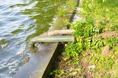 Überschüssige Wasserleitungen Stockfotografie
