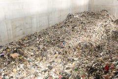 überschüssiger Abfallabfall der Abfall-zu-Energie Stockbilder