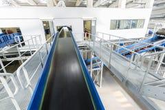 Überschüssiger Förderer der Biomasse Betriebs Stockbilder