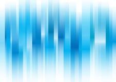 Überschneidene blaue Stange Stockfoto