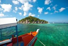 Überschrift zur Insel stockfotografie