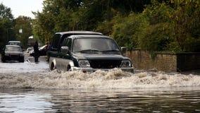 Überschwemmt Lizenzfreies Stockfoto