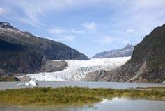 Überschwemmte Gletscher-Landschaft Lizenzfreie Stockfotografie