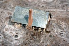 Überschwemmtes Haushaus 2 Lizenzfreies Stockbild