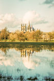 Überschwemmtes Oxford Stockfotografie