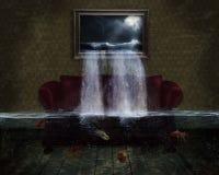 Überschwemmung Stockfotografie
