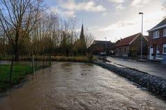Überschwemmung in Flandern Lizenzfreie Stockbilder