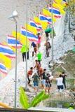 Überschwemmung Thailand Stockfoto