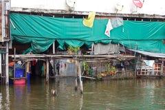 Überschwemmunghaus stockfoto