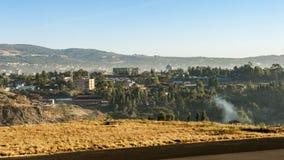 Übersehen Sie Addis Ababa Lizenzfreie Stockfotografie