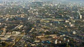 Übersehen Sie Addis Ababa Stockfotografie