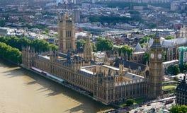 Übersehen Sie von Big Ben lizenzfreie stockbilder