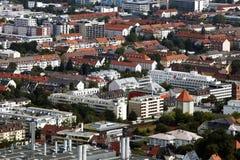 Übersehen Sie von München Lizenzfreies Stockfoto