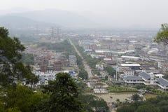 Übersehen Sie zhangzhou Stadt lizenzfreies stockbild