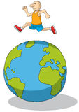 Überspringen Sie die Welt Lizenzfreies Stockfoto