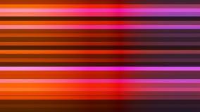 Übertragen Sie funkelnde horizontale High-Teche Stangen, multi Farbe, Zusammenfassung, Loopable, 4K stock abbildung