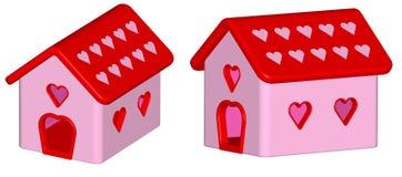 Übertragen Sie: lieben Sie Haus Lizenzfreie Stockbilder