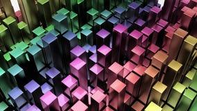 Übertragen Sie vom geometrischen abstrakten Hintergrund 3D vektor abbildung