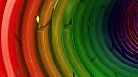 Übertragen Sie vom geometrischen abstrakten Hintergrund 3D stock abbildung