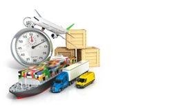 Übertragen Sie vom unterschiedlichen Transport Lizenzfreies Stockfoto