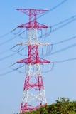 Übertragung des Stroms Stockfoto
